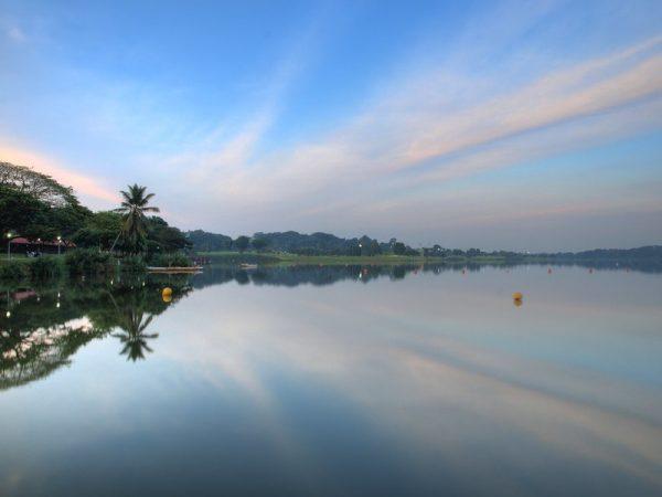 picnic places singapore lower seletar reservoir sunset