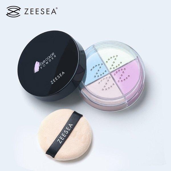 zeesea review four colour powder even skin tone