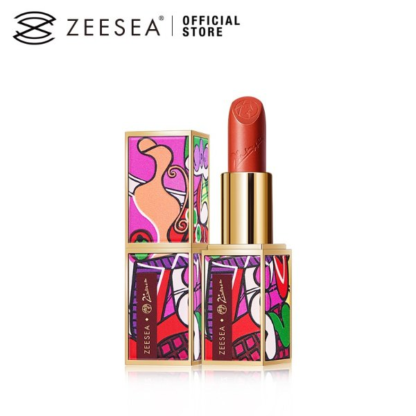 zeesea review picasso velvet matte lipstick limited edition packaging