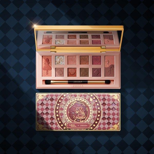 zeesea review british museum alice in wonderland eyeshadow palette limited edition