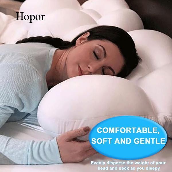 best pillow for neck pain hopor pillow