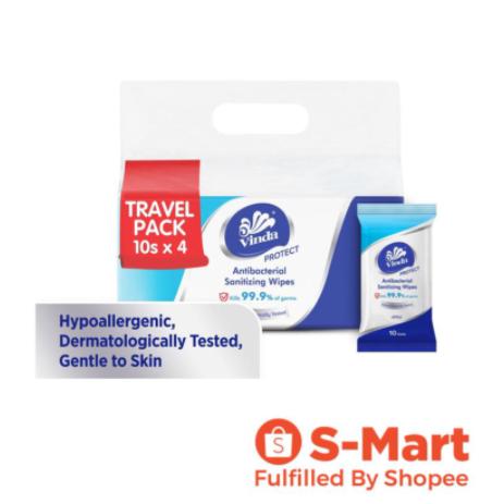 Vinda Protect Antibacterial Wipes