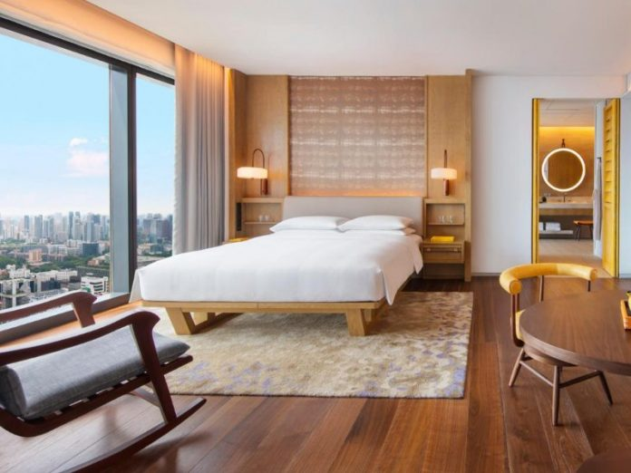 andaz singapore best hotel staycation grand wooden