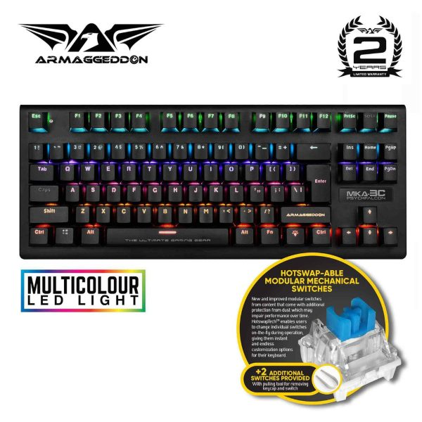 amaggeddon mka-3c budget gaming mechanical keyboard
