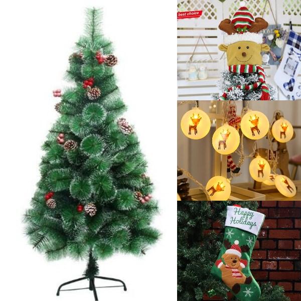 reindeer inspired diy christmas tree idea
