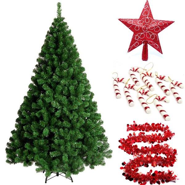 candy cane inspired diy christmas tree idea