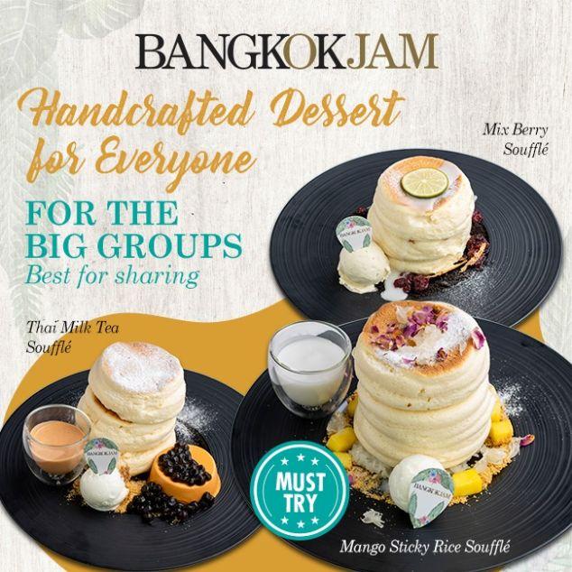 bangkok jam best souffle pancakes singapore