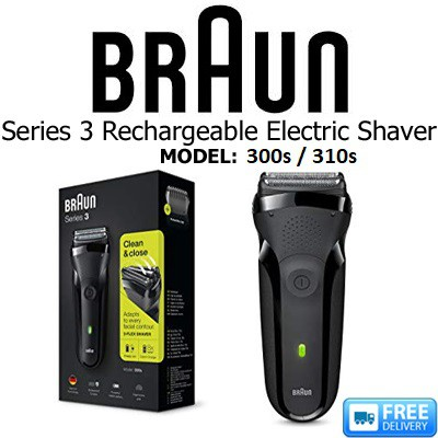 christmas gift idea men braun series 3 300s electric shaver