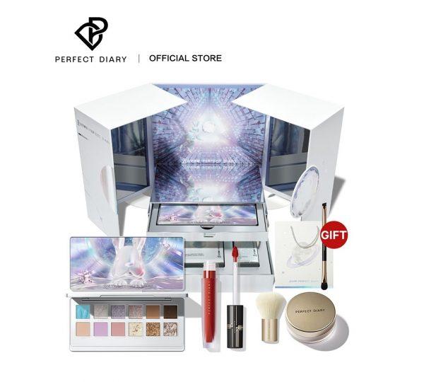 christmas makeup gift set idea for women perfect diary china aerospace jade rabbit explorer eyeshadow limited edition