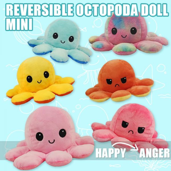 best gifts for kids reversible octopus plush