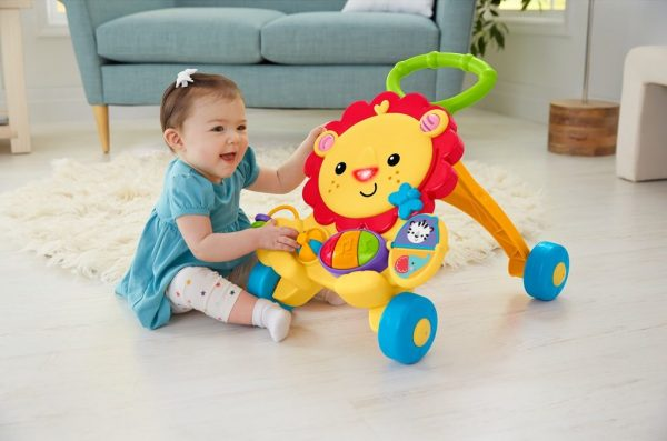 christmas gift ideas for kids age 0 to 3 fisher price musical lion walker
