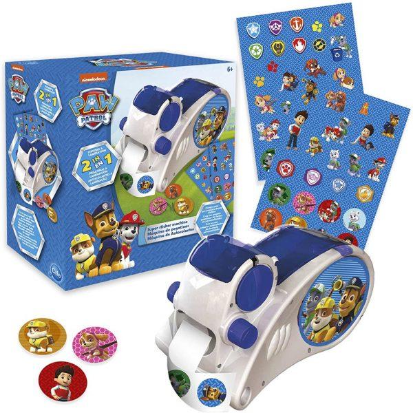 christmas gift ideas for kids paw patrol super sticker machine