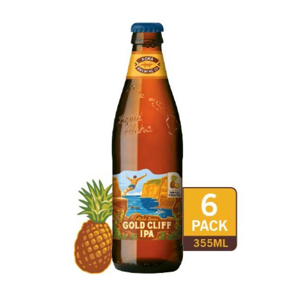 best beer brands in singapore kona gold cliff hawaiian ipa with pineapple craft beer