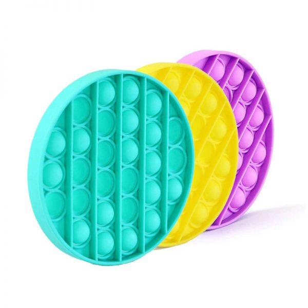 best gifts for kids pop its round fidget toy bubblewrap