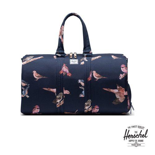 Herschel Novel Peacoat Birds Duffle Bag