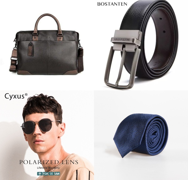 minimalist wardrobe for men accessories