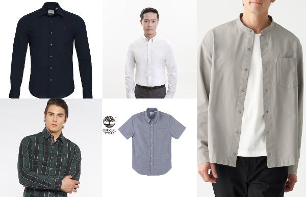 minimalist wardrobe for men shirts