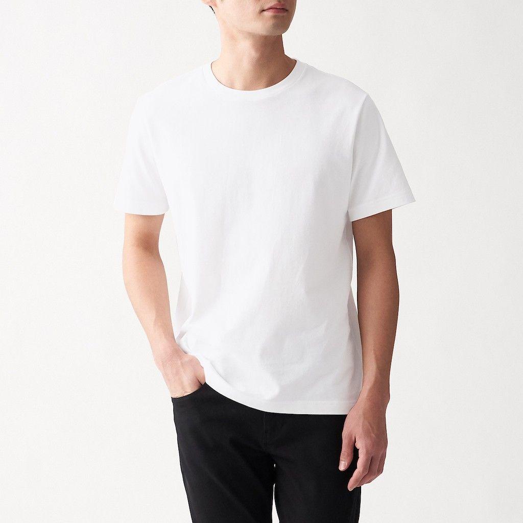 muji indian cotton tshirt minimalist wardrobe for men