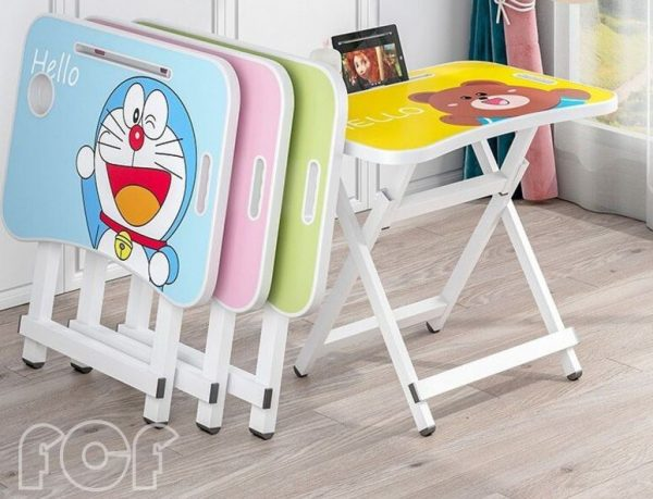 cartoon folding table best study tables for kids