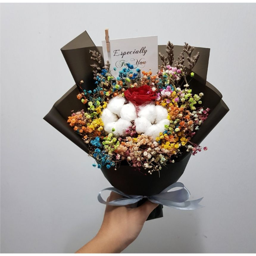 preserved flowers bouquet affordable flower delivery singapore