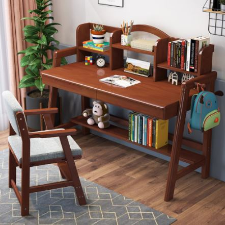 table with shleves best study tables for kids