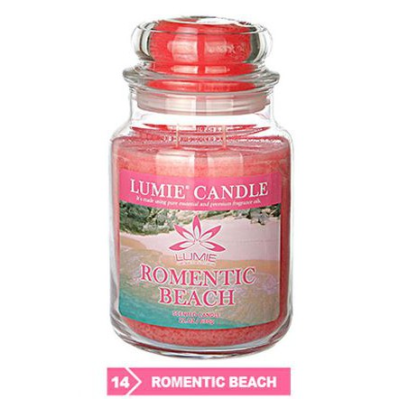 lumie candle romentic beach best scented candle dinner date night fruity fragrance