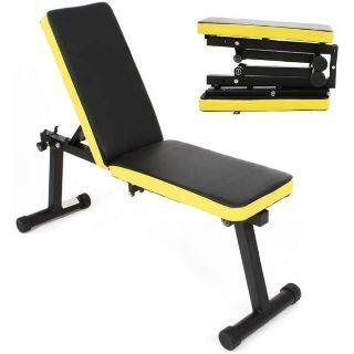 foldable adjustable bench home gym singapore