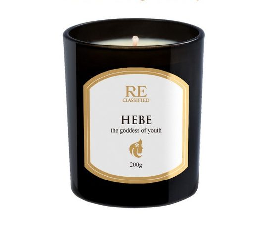 reclassified hebe scented candle best black tin