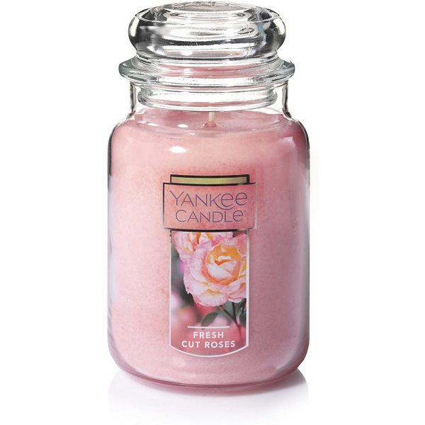 best scented candle yankee fresh cut roses first date romantic