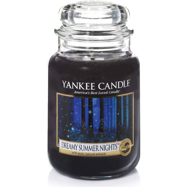 best scented candles yankee dreamy summer nights black