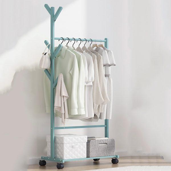 space saving furniture open rack walk in wardrobe small apartment