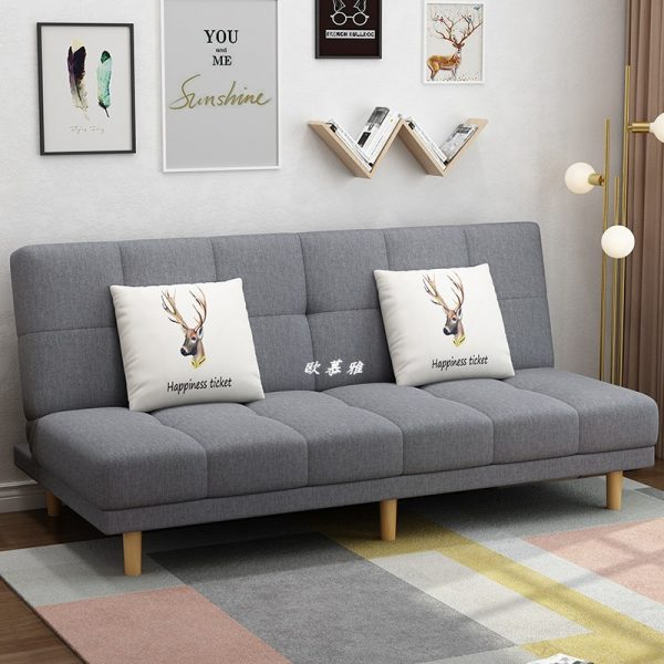 space saving furniture grey sofa bed for small living room