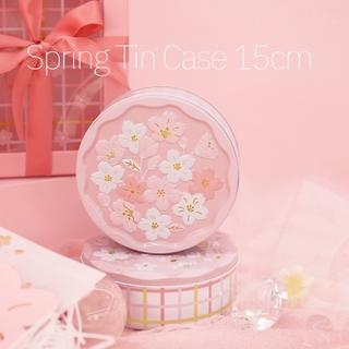 Daiso Sakura Tin Case