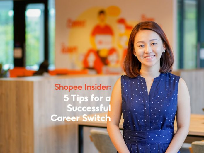 Shopee Insider: 5 Tips for a Successful Career Switch