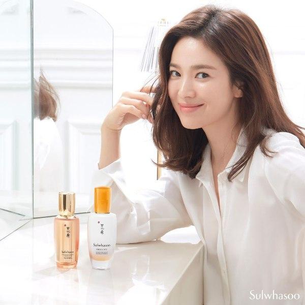 sulwhasoo brand ambassador song hye kyo