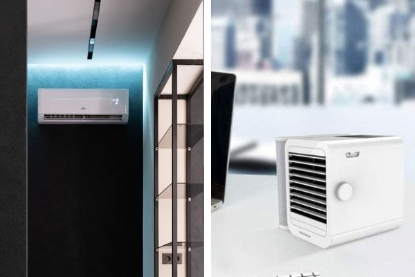 how to choose between air con and best air coolers singapore