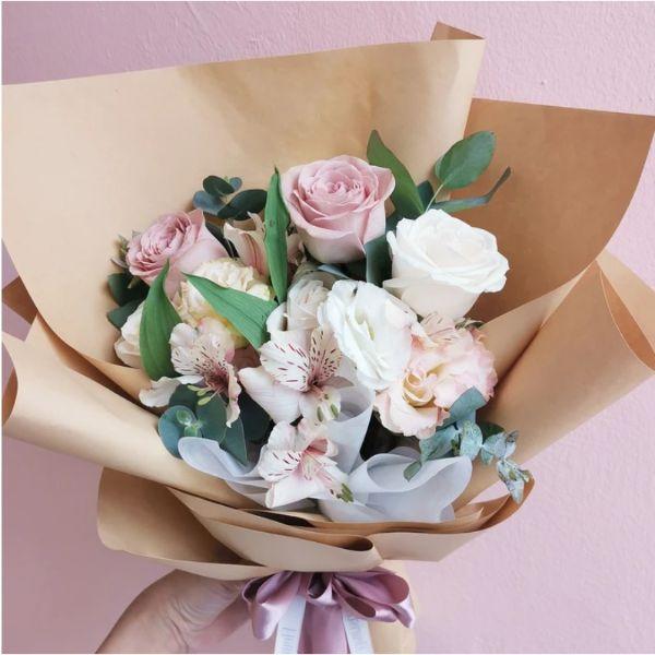 mothers day flower arrangement class fleuriste singapore