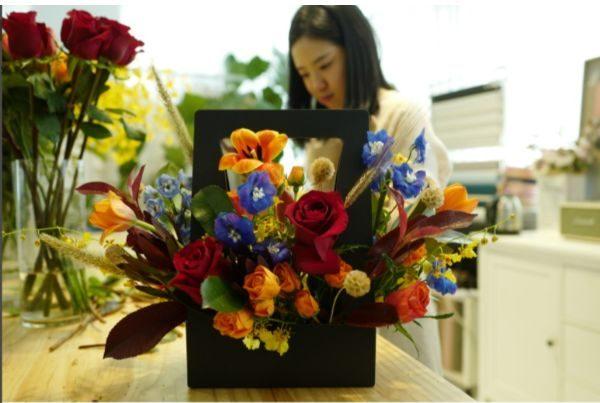 flower arrangement class singapore nicole's flower