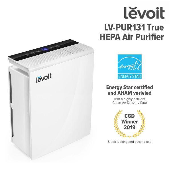 best air purifier levoit true HEPA air purifier