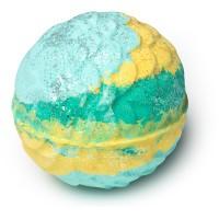 LUSH Melusine Bath Bomb singapore turquoise