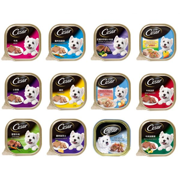 cesar best dog foods