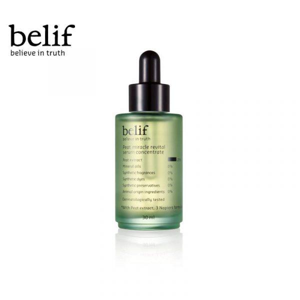 Belif Peat Miracle Revital Serum Concentrate korean best anti ageing serum