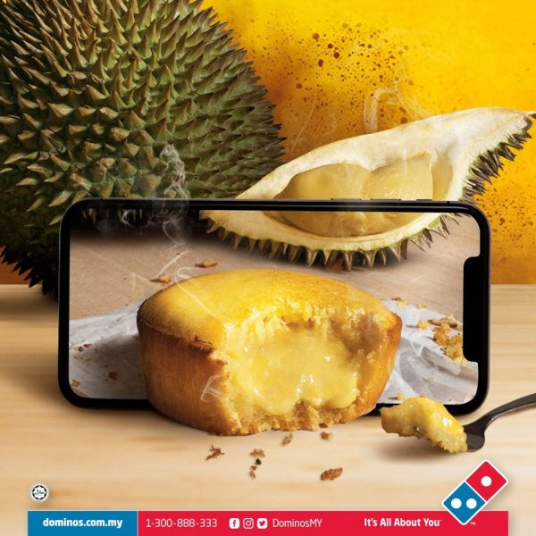 dominos lava durian cake recipe