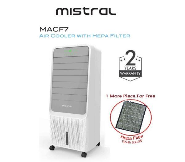 Mistral Air Cooler with HEPA Filter (MACF7) best air cooler