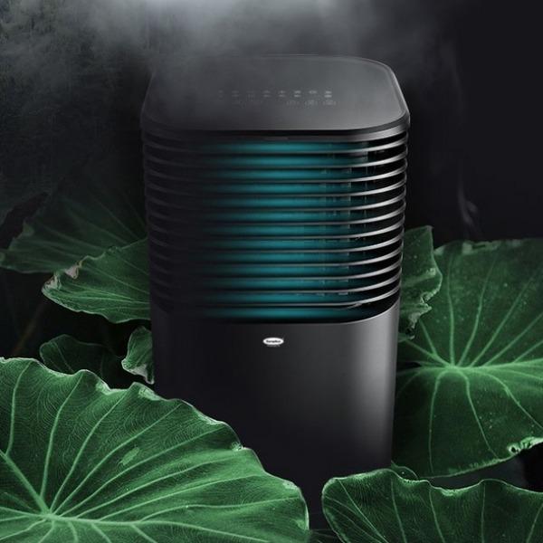 4-in1 EuropAce Evaporative Air Cooler (4751V) in black