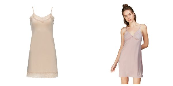 lingerie types slip dress