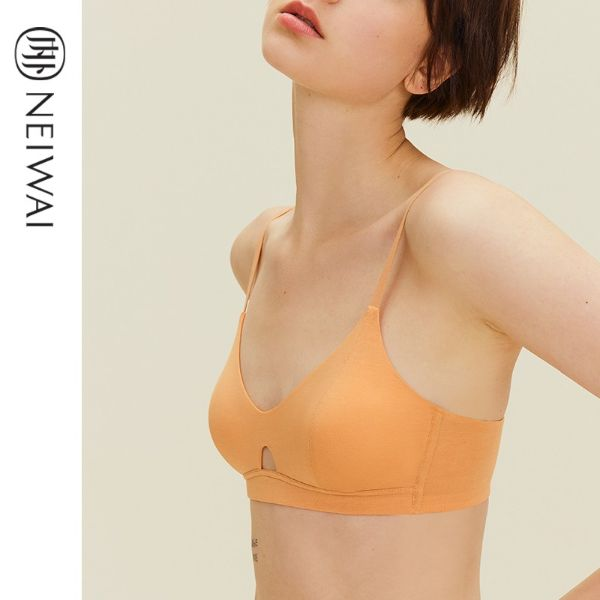 lingerie brands singapore neiwai orange keyhole t-shirt bra