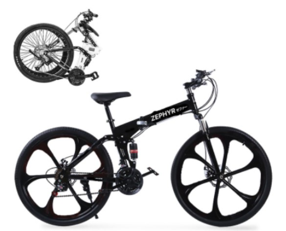 zephyr foldable bike city bikes singapore