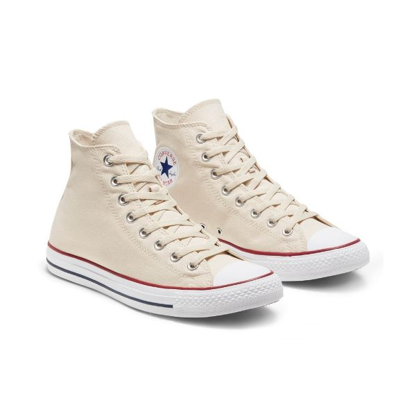 shoelace style how to tie converse high cut unisex chuck taylor all star hi ivory white