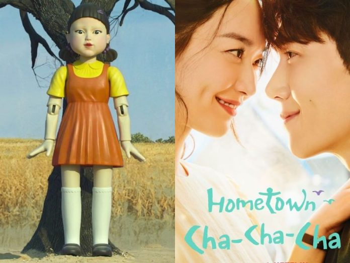 squid game hometown cha cha cha korean drama k-drama 2021 netflix